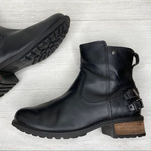 UGG | Orion Leather Casual Moto Boots Sz. 7